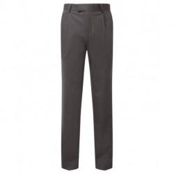 Pantalon de costume coupe classique extensible dessus de cuisse doublé 54-44 polyester-laine Cadenza homme NM704 Alexandra