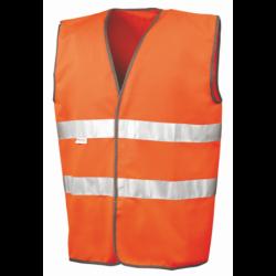 Gilet sans manche de sécurité haute visibilité 3M polyester classe 2 unisexe Result