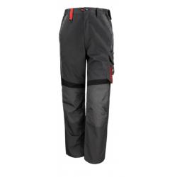Pantalon de travail multipoches avec renforts à genouillères et zip 65-35 polycoton 270 grs-m2 unisexe Result